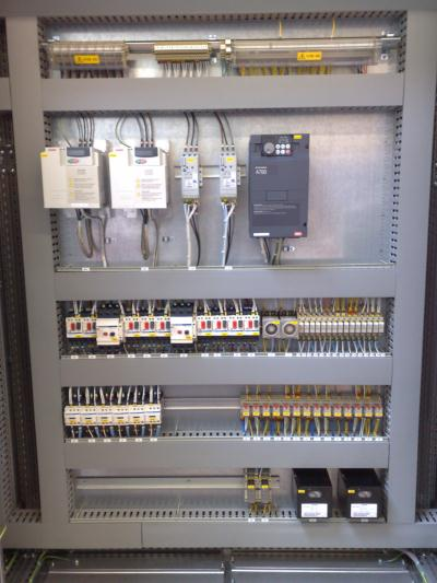 Control Panel Assembly for industry in Runcorn
