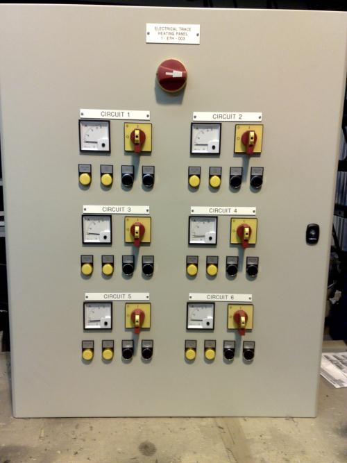 Electrical trace heating system in Runcorn designed following energy survey